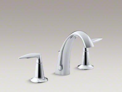 Buy Alteo® widespread bathroom sink faucet with lever handles