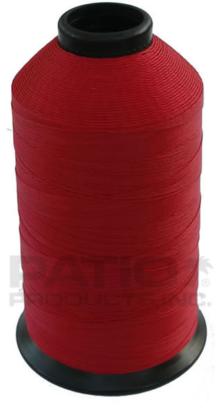 Buy EH-225 Red 1/2 Lb. Spool - Bonded 100% Polyester Thread