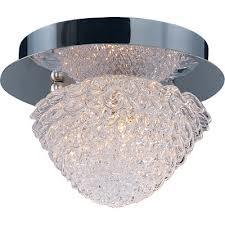 Buy One Light Chrome Bowl Flush Mount