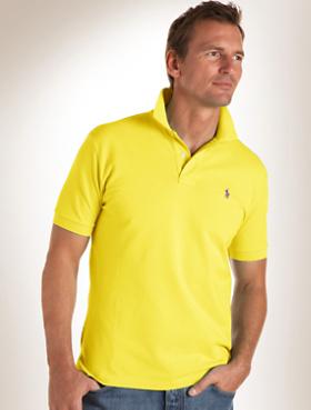Buy Polo Ralph Lauren® Stripe Oxford Mesh Polo