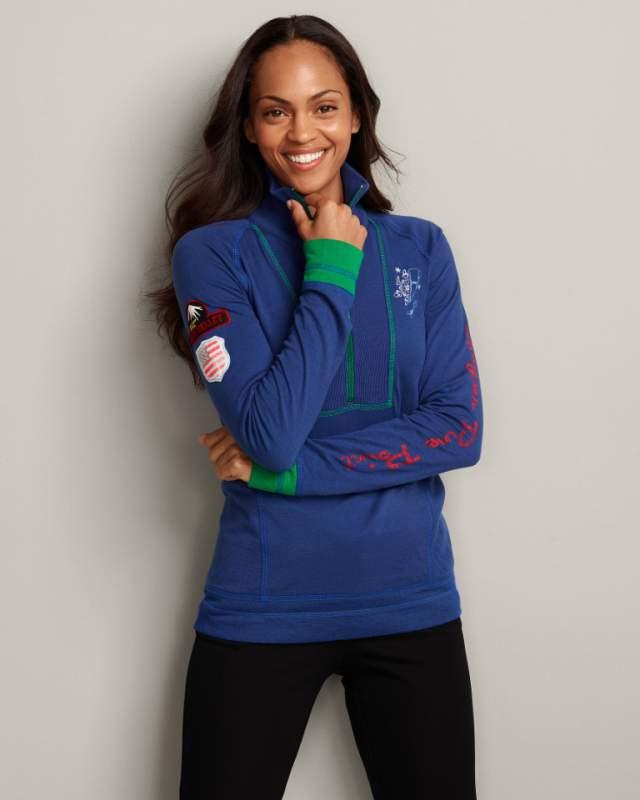 Buy Squaw Valley Colorblock Half-Zip Pullover