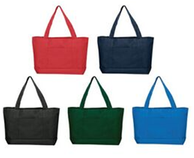 Buy Solid Color Poly Tote Bag