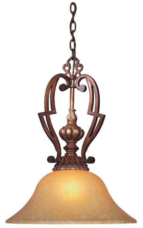 Buy One Light Wood Down Pendant