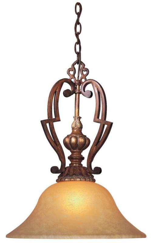 Buy One Light Wood Down Pendant