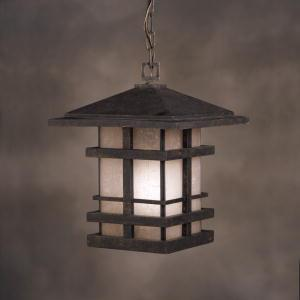 Buy One Light Bronze Hanging Lantern