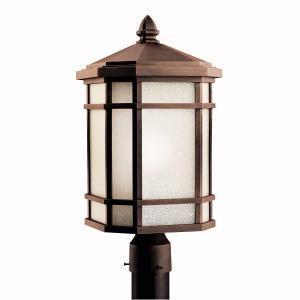 Buy One Light Bronze Post Light