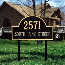 Buy Address Signs