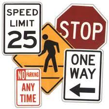 Buy Street & Traffic Signs