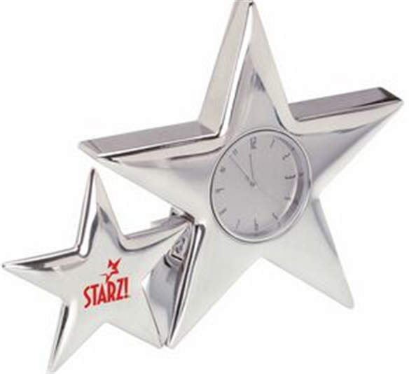Buy Metal Star Clock