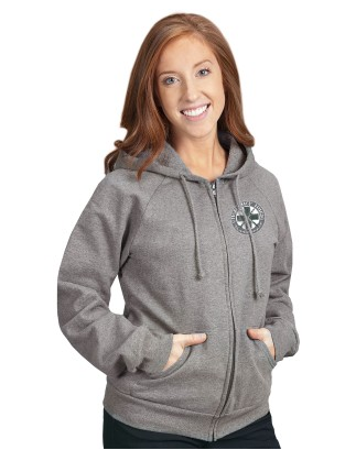 "Women's ""Emergency Nurse"" Junior Fit Full-Zip Hoodie"