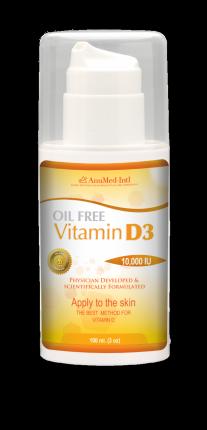 Buy Oil Free Vitamin D3 Cream 3oz