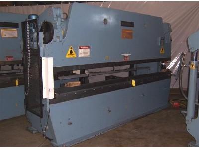 12' X 130 Ton, Hydraulic, Down Acting, Accurpress & Automec 1 Axis CNC Controls