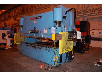 12' X 175 Ton, Hydraulic, Down Acting, Hurco Autobend 7 2 Axis CNC Back Gauges