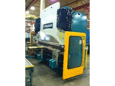 10' x 176 Ton, Hydraulic, Down Acting, 8 Axis CNC Gauges, Crowning, Hyd Clamping
