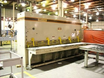 """12' X 1/2"""", Hydraulic, Front Power B/Gauges, Front Squaring Arm"""