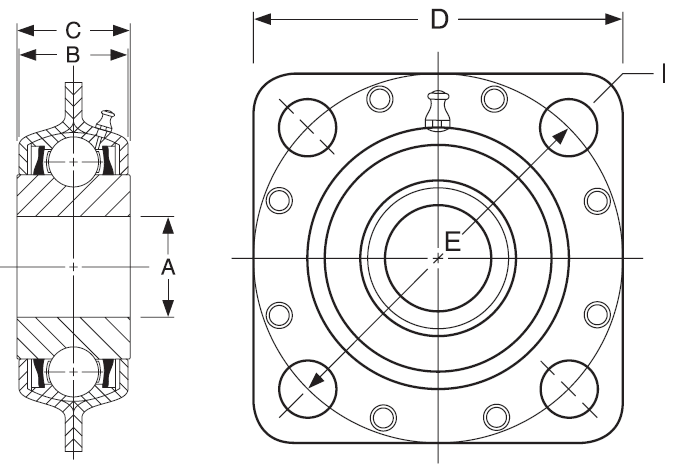 Buy Flanged Disc Units