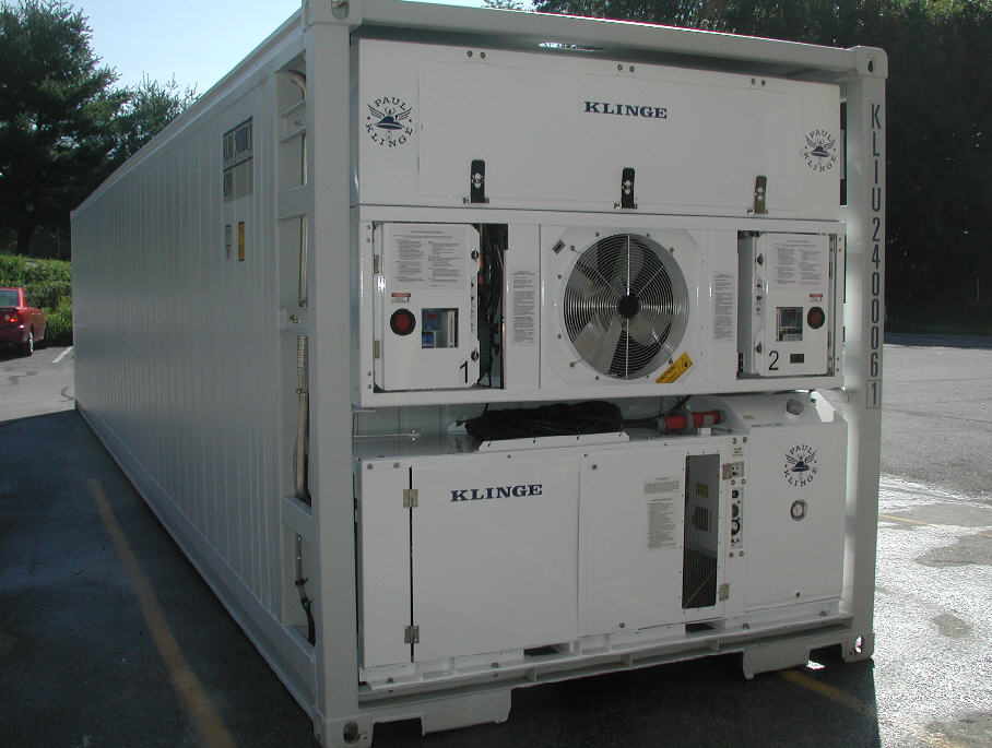 Buy DUAL REFRIGERATED CONTAINERS