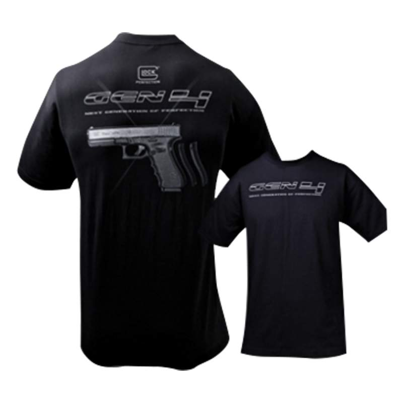 Buy Glock Gen 4 T-Shirt Medium Black