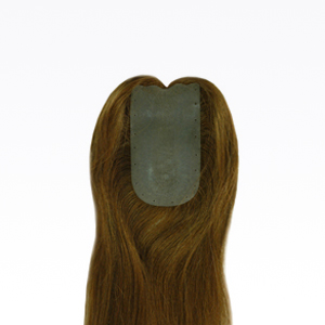 Buy Part-Skin Base Natural Perm Straight Hairpiece