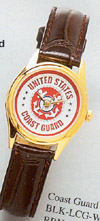 Buy Ladies Wrist Watch W/Coast Guard Logo