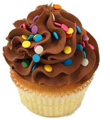 Buy Chocolate Fake Cupcake USA