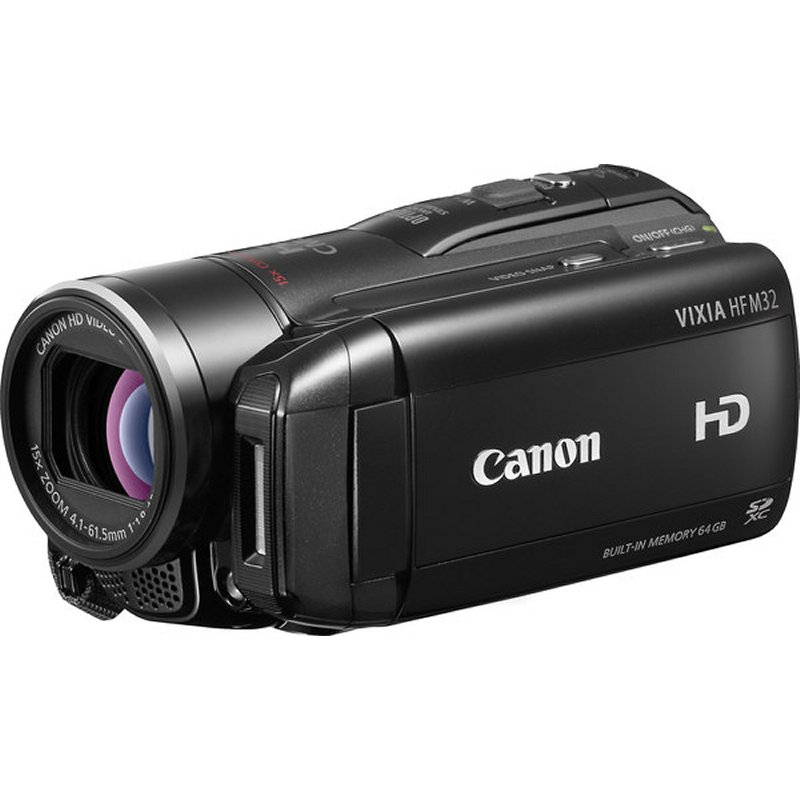 Buy Canon VIXIA HF M32 HD camcorder with 64GB flash memory