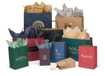 Buy Textured Colors on Kraft Bags