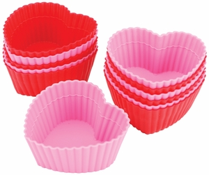 Buy Silicone Baking Cups Heart