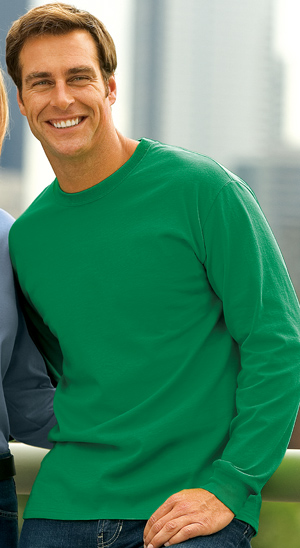 Buy Cotton Essential Long Sleeve T-Shirt