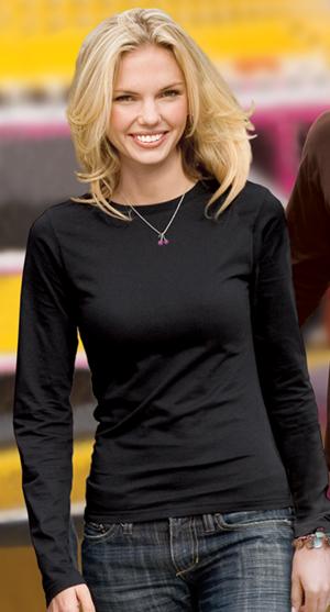 Buy Ladies Long Sleeve District Tee