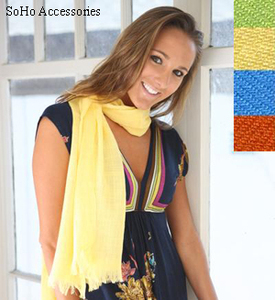 Buy Pacific Blue's Lightweight Scarf