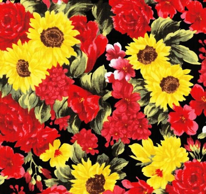 Buy Always in Bloom - Spring Flowers Fabric