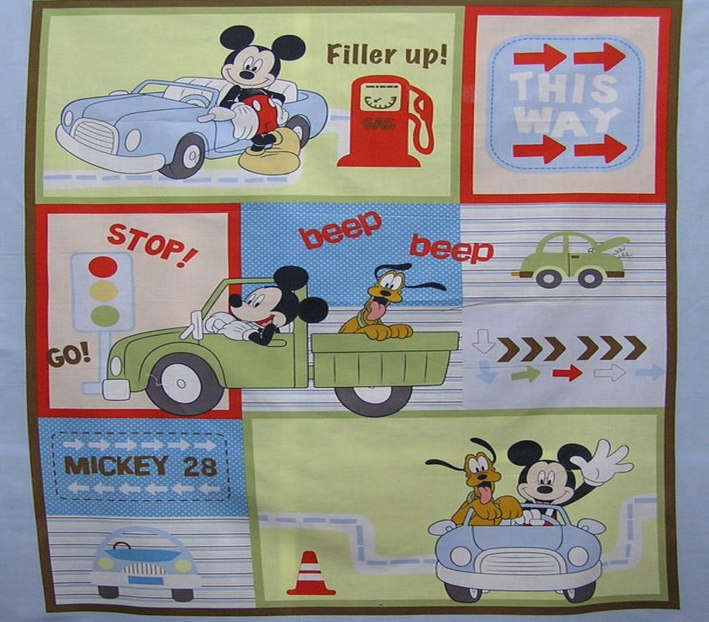 Buy Springs Mickey Mouse Transportation 10270 /CP38155 Fabric