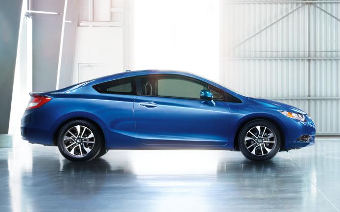 Buy Honda Civic Coupe New Car