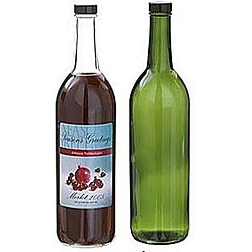 Buy Bordeaux Glass Wine Bottles - Screw Top