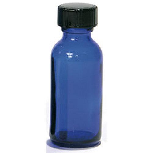 Buy Blue Boston Round Glass Bottles