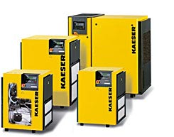 Buy Rotary screw compressors with V-belt drive to 30 hp