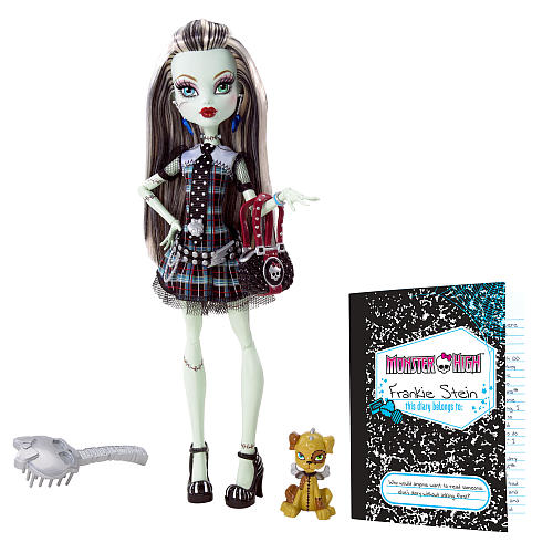 Buy Monster High Frankie Stein Toy Doll & Accessory Collection