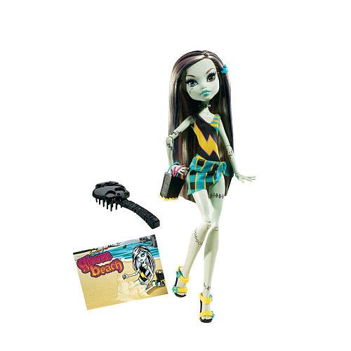 Buy Monster High Gloom Beach Frankie Stein Toy Doll