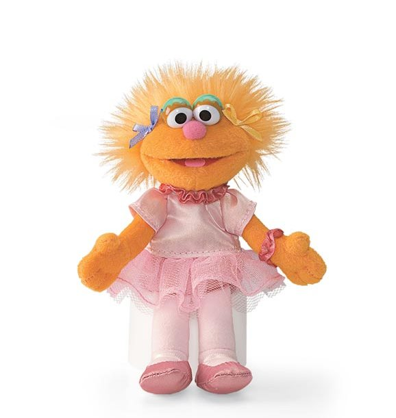 Buy Sesame Street Zoe Mini Beanbag Plush Toy