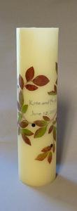 Buy Fall Leaf Wedding Candle
