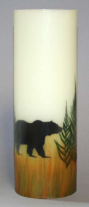 Buy Grizzly Bear Candle