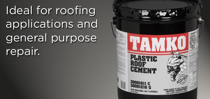 TAMKO® Plastic Roof Cement .