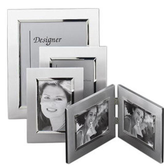 Buy Brushed Metal Picture Frame