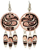 Buy Eagle Earrings K-04