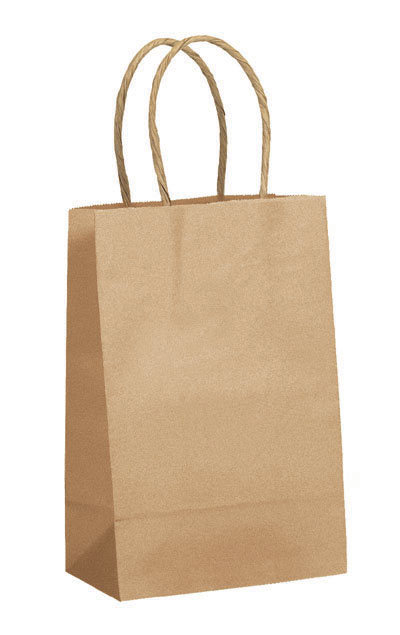 Buy 100% Recycled Twisted Handle Shopping Bags
