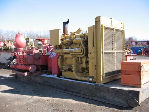Buy (3) National Oilfield Triplex 7 P-50 Pumps Rebuilt-500HP