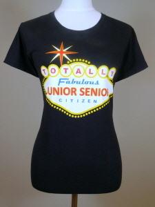Buy T-Shirts – Ladies Junior Senior Citizen – Fabulous Vegas