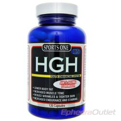 Buy HGH XS Human Growth Hormone - HGH-XS by Sports One Nutrition - HGH 120 Capsules