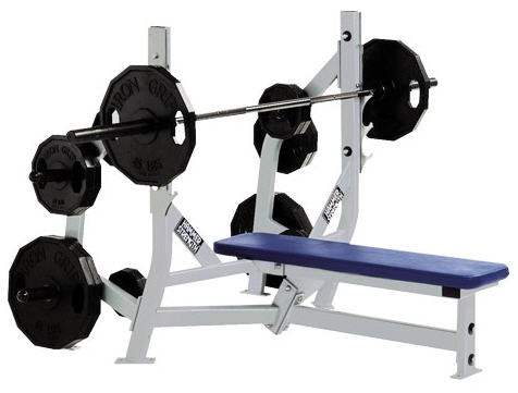 Buy Hammer Strength Olympic Bench Weight Storage